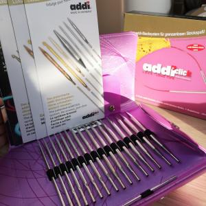 Набор спиц AddiClick Lace Long Tips