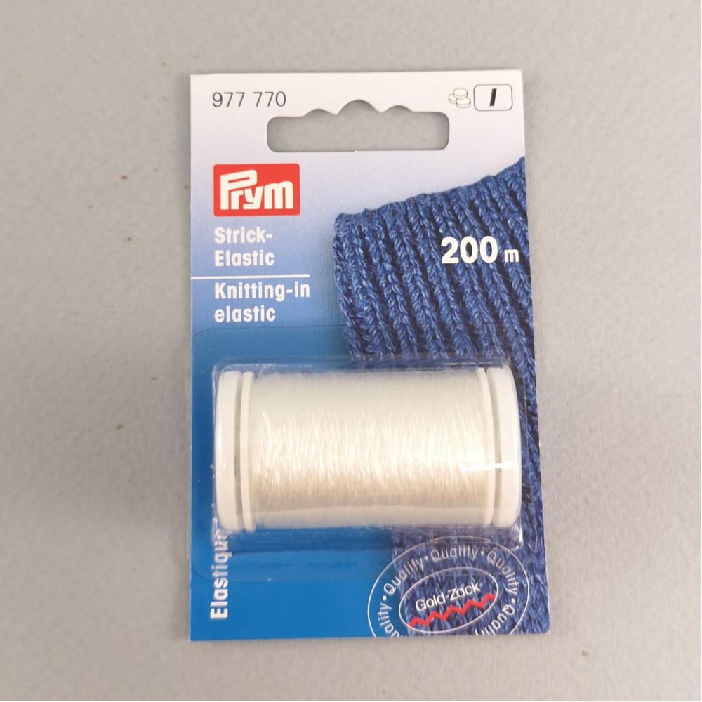 Нить эластичная для вязания Prym. 200м