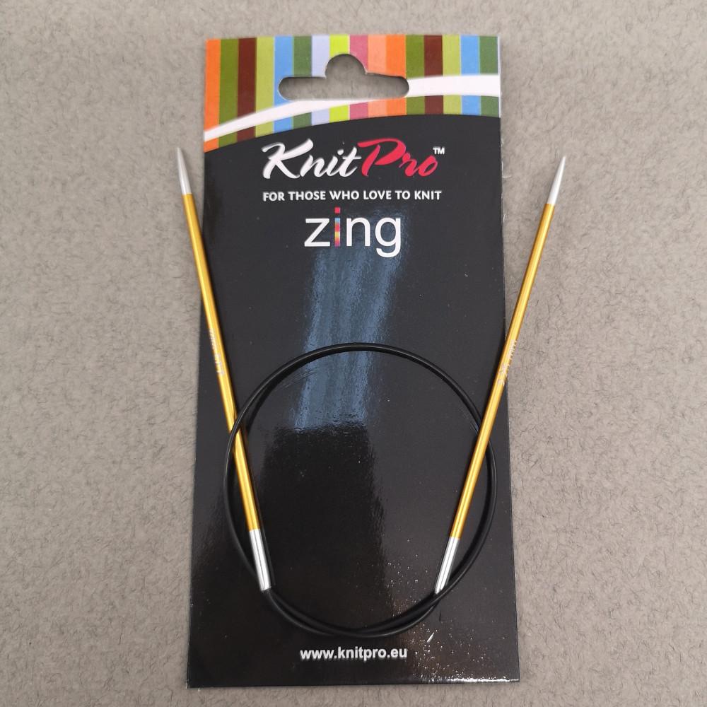 Круговые спицы Knitpro Zing 40см