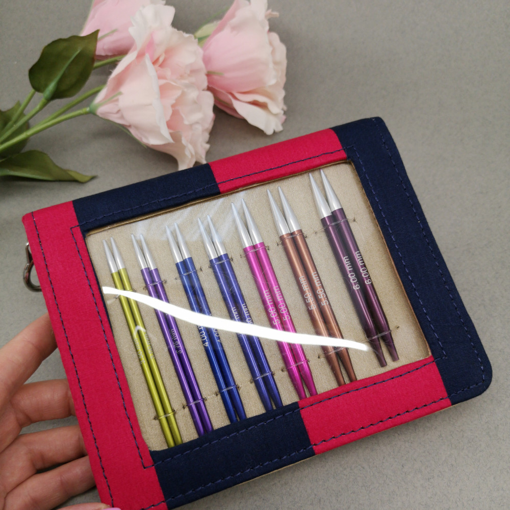 Набор спиц Knitpro Needle Set Zing(10см)