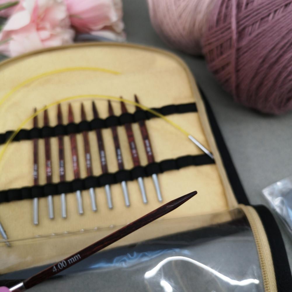 Набор спиц Knitpro Needle Set Cubics(8,5см)