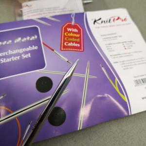Набор спиц Knitpro Starter Set Nova Metal(12 см)