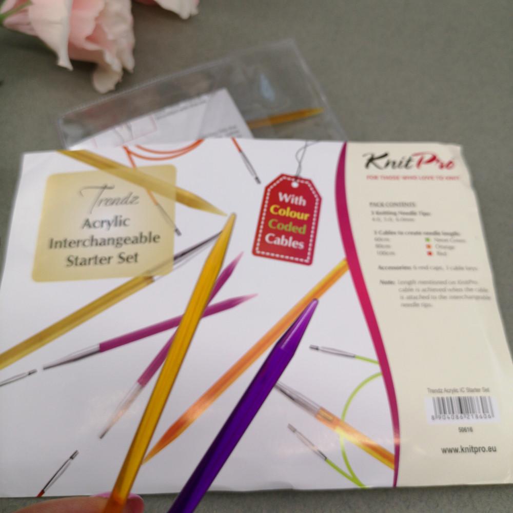 Набор спиц Knitpro Starter Set Trendz(12 см)