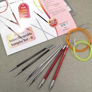Набор спиц KnitPro Comby Starter Set-II (12см)