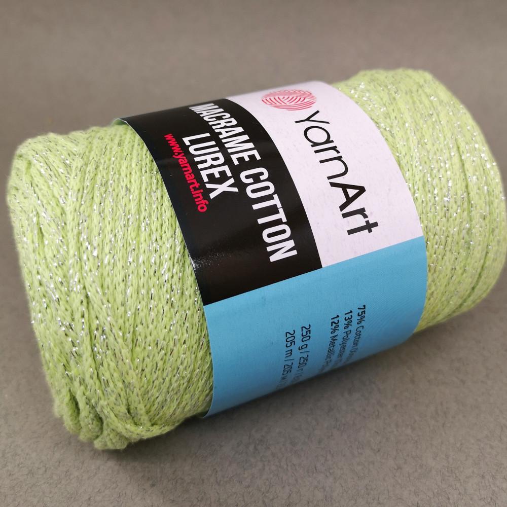 Macrame Cotton Lurex